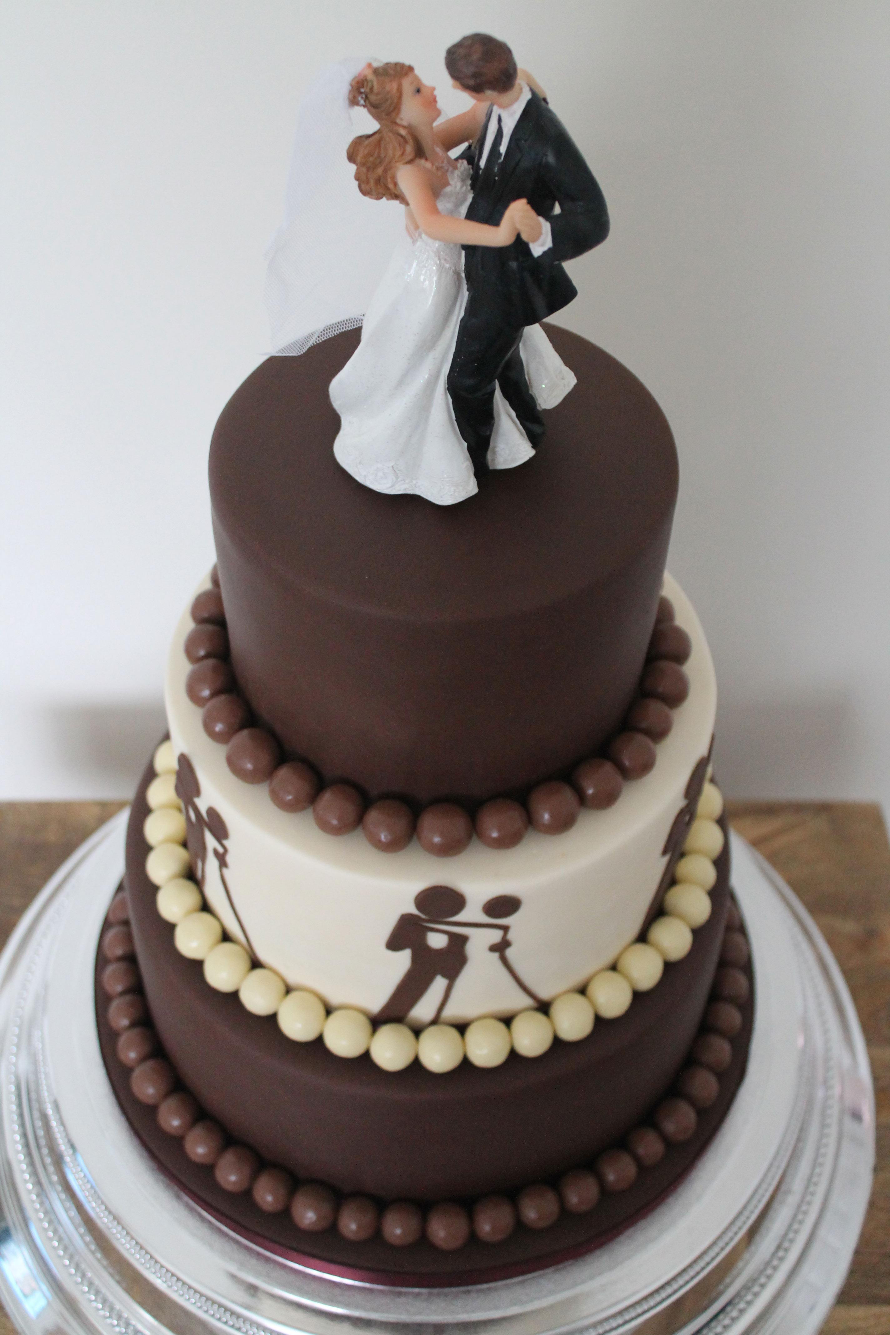 Chocolate Lover Ballroom Cake